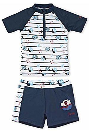 Sterntaler Baby Boys' Conjunto De Natación (2 Pzs) (Camiseta & Slip) Swimsuit