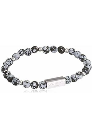 Von Lukacs Men Onyx Stretch Bracelet NYSO6M