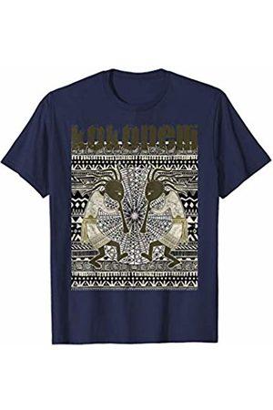 EDDArt Native American Kokopelli Musicans - Sun Border 5 Fan Fun T-Shirt