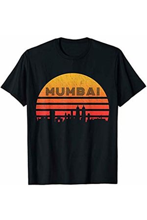 Classic Vintage Retro T-Shirts Vintage Retro Sunset Mumbai India T-Shirt