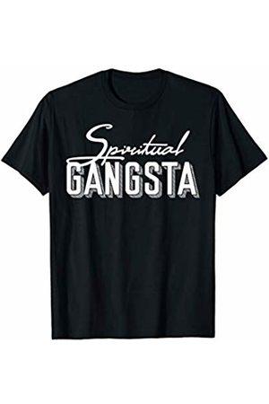 Spiritual Gangster yoga Apparel New Age Spiritual Spirituality Yoga Gangster Enlightened Zen T-Shirt
