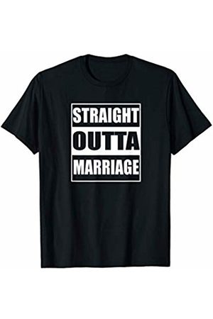 !RALUPOP Divorce Shirts | Funny STRAIGHT OUTTA MARRIAGE Shirt T-Shirt