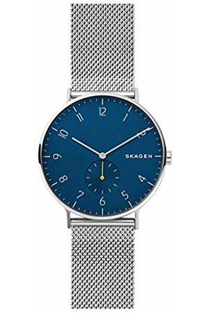 Skagen Mens Analogue Quartz Watch with Stainless Steel Strap SKW6468