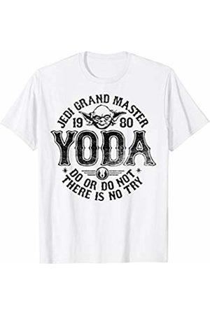 STAR WARS Yoda 1980 Jedi Grand Master Circle Logo T-Shirt