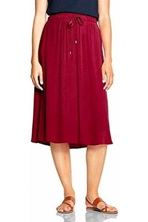 Street one Women's 360442 Skirt, Wine 11817
