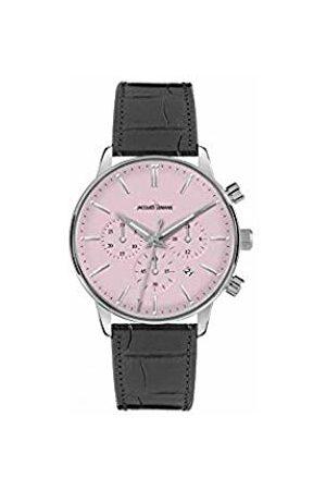 Jacques Lemans Mens Analogue Quartz Watch with Leather Strap 1-209F