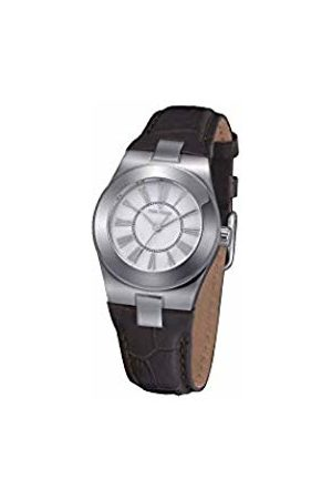 Time Force Women Watch With Leather Strap tf4003l02
