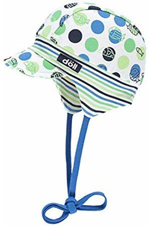 Döll Baby Boys' Bindemütze Mit Schirm Jersey Sun Hat, (Mediterranian