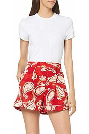 Dorothy Perkins Women's Paisly Piped Short