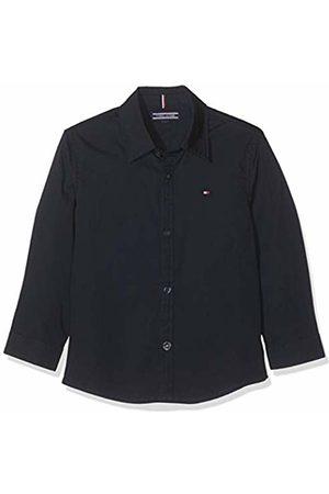 Tommy Hilfiger Boys Solid Stretch Poplin Shirt L/s Blouse