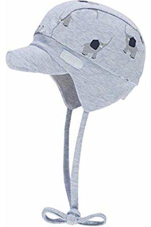 Döll Baby Girls' Bindemütze Mit Schirm Jersey Sun Hat, (Maya Melange|