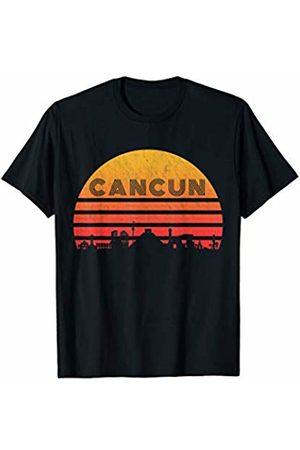 Classic Vintage Retro T-Shirts Vintage Retro Sunset Cancun Mexico T-Shirt