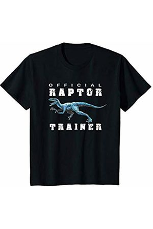 JJs Dinosaur Wear Youth Boys Short Sleeve Kids Jurassic Raptor Trainer Graphic Tee T-Shirt