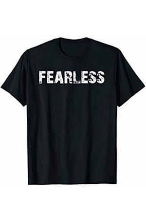 Buy Cool Shirts Fearless Inpsirational Motivational T-Shirt