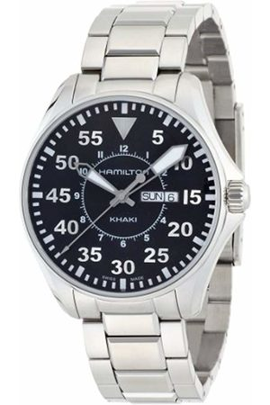 Hamilton Men's Analogue Quartz Watch with Stainless Steel Strap H64611135