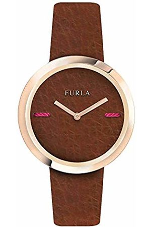 Furla Womens Analogue Quartz Watch with Leather Strap R4251110508