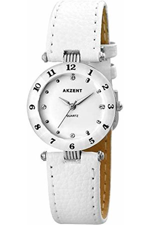 Akzent Womens Analogue Quartz Watch with Leather Strap SS7322000014