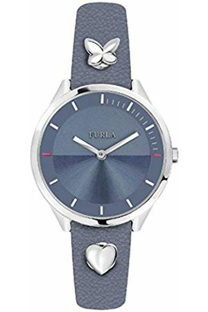 Furla Womens Analogue Quartz Watch with Leather Strap R4251102538