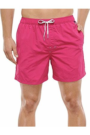 Schiesser Men's Swimshorts Swim Shorts, -Rot (Fuchsia 508)