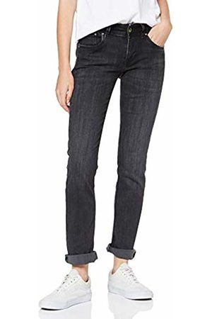 Pepe Jeans Women's Saturn Pl201660 Straight Jeans, Wiser Wash Denim Wv9