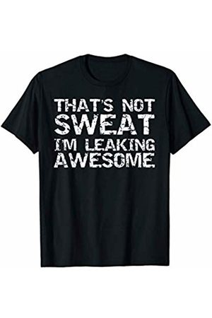 It's Football Time Y'all Design Studio Men T-shirts - Funny Sports Player That's Not Sweat I'm Leaking Awesome T-Shirt