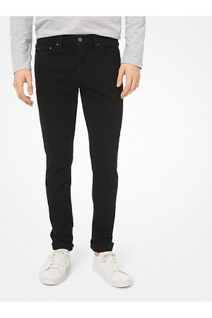 Michael Kors Mens MK Skinny-Fit Stretch-Cotton Jeans - - Michael Kors