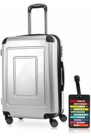 Happy Trolley Lugano Hand Luggage 66 Centimeters 78 (Silber)