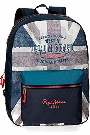 Pepe Jeans Ian School Backpack 42 Centimeters 21.42 (Azul)