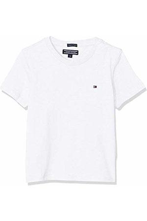 Tommy Hilfiger Boys Basic Cn Knit S/s T-Shirt, (Bright 123)