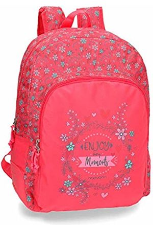 MOVOM Enjoy School Backpack 44 Centimeters 19.600000000000001 (Rosa)