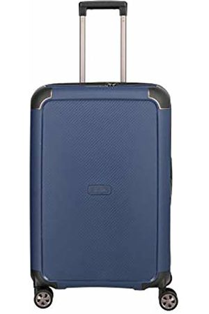 "Titan ""COMPAX""-Trolleys von ®: stabile Hartschalen-Koffer in futuristischer Optik in 3 Farben Hand Luggage 67 Centimeters 75 (Navy)"
