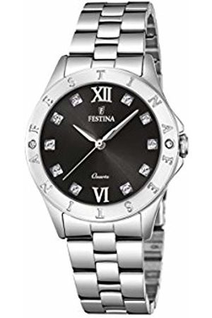 Festina Women's Analogue Quartz Watch with Stainless Steel Strap F16925/B