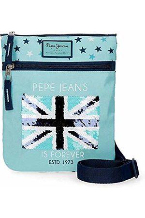 Pepe Jeans Cuore Messenger Bag 24 Centimeters 0.24 (Azul)