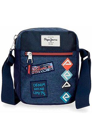 Pepe Jeans Paul Messenger Bag 21 Centimeters 2.5 (Azul)