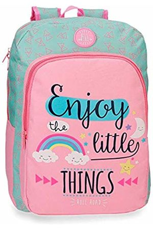 Roll Road Little Things School Backpack 40 Centimeters 15.6 (Rosa)