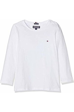 Tommy Hilfiger Girls Basic Cn Knit L/s T-Shirt, Bright 123