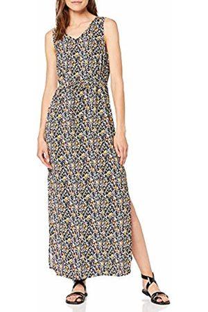 Vero Moda Women's Vmsimply Easy Sl Tank Maxi Dress, AOP:Karen