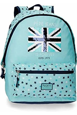 Pepe Jeans Kids Suitcases & Luggage - Cuore School Backpack 42 Centimeters 22.79 (Azul)