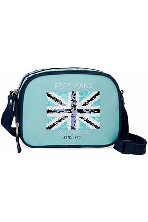 Pepe Jeans Cuore Messenger Bag 23 Centimeters 3.13 (Azul)