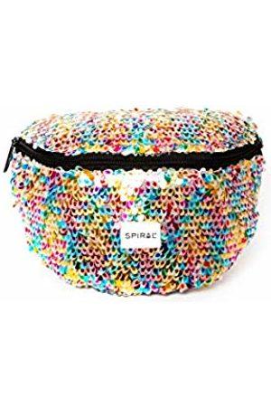 Spiral Feathered Sequins - Bum Bag Sport Waist Pack, 23 cm