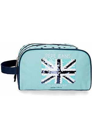 Pepe Jeans Cuore Beauty Case 26 Centimeters 4.99 (Azul)