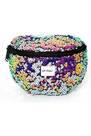 Spiral Chic Sequins Bum Bag Sport Waist Pack, 23 cm
