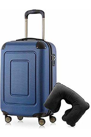 Happy Trolley Lugano Hand Luggage 55 Centimeters 40 (Dunkelblau)