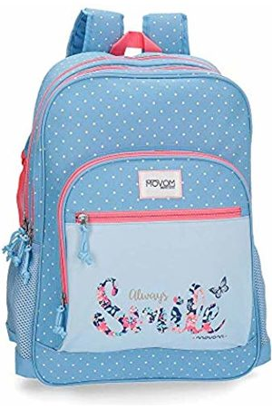 MOVOM Always Smile School Backpack 45 Centimeters 21.6 (Azul)