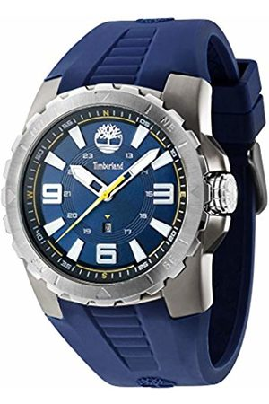 Timberland Men's TBL.94471AEU/03P Quartz Watch with Dial Analogue Display and Silicone Strap