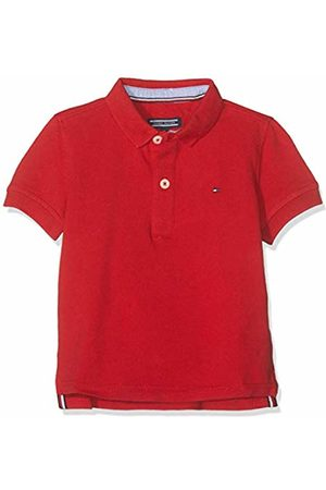 Tommy Hilfiger Boys Tommy Polo S/s Shirt, (Apple 600)