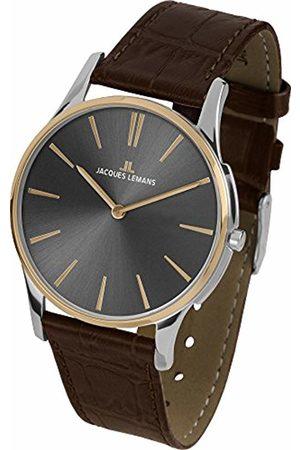 Jacques Lemans Women's Multi dial Quartz Watch with Leather Strap 1-1938E