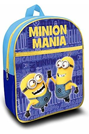 Bakaji Minions Cattivissimo Me Children's Backpack 30 Centimeters (Blu)