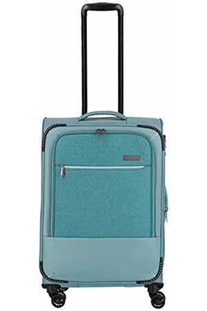 """Elite Models' Fashion Reisegepäck-Serie """"Arona"""" von : attraktive Trolleys und Bordtaschen in 3 Farben Hand Luggage 66 Centimeters 56 Turquoise (Aqua)"""