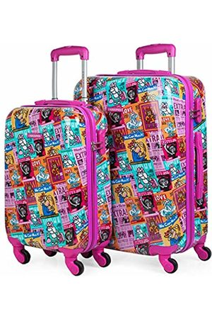 Kukuxumusu Kioskuxumusu Girls Luggage Set, 64 cm
